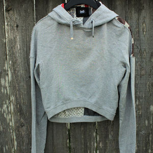 Dolce and Gabbana D&G Cropped Hoodie VTG
